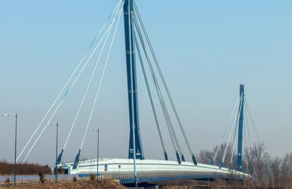05. Cable Stayed Bridge, Montodine d'Adda (Italy)