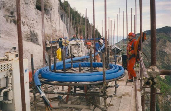 05. Zambana dihedral consolidation works, Zambana (TN), Italy